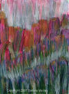 "ACEO ""Wild Flowers"" acrylic on Gessoed cardstock by Bettina Makley aka Fairywebmother.(SOLD)"